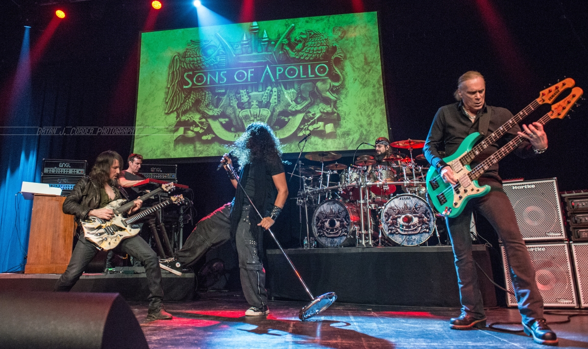 Live Review- Sons Of Apollo takes The Plaza Live on a Hard Rock/Prog journey they will never forget!!