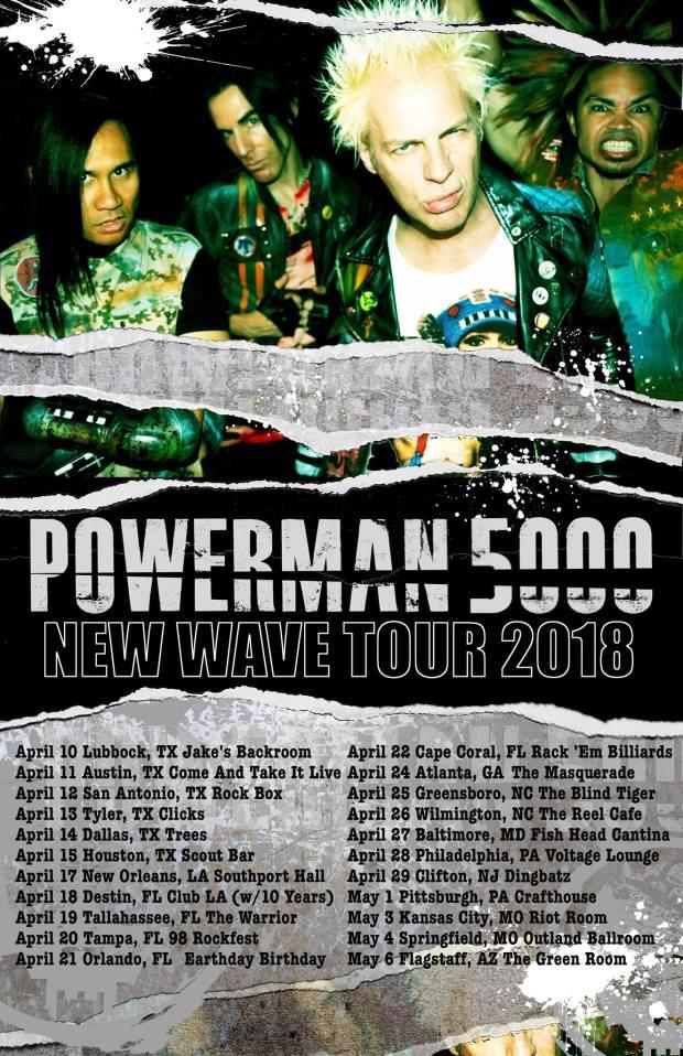 PM5K New Wave Tour