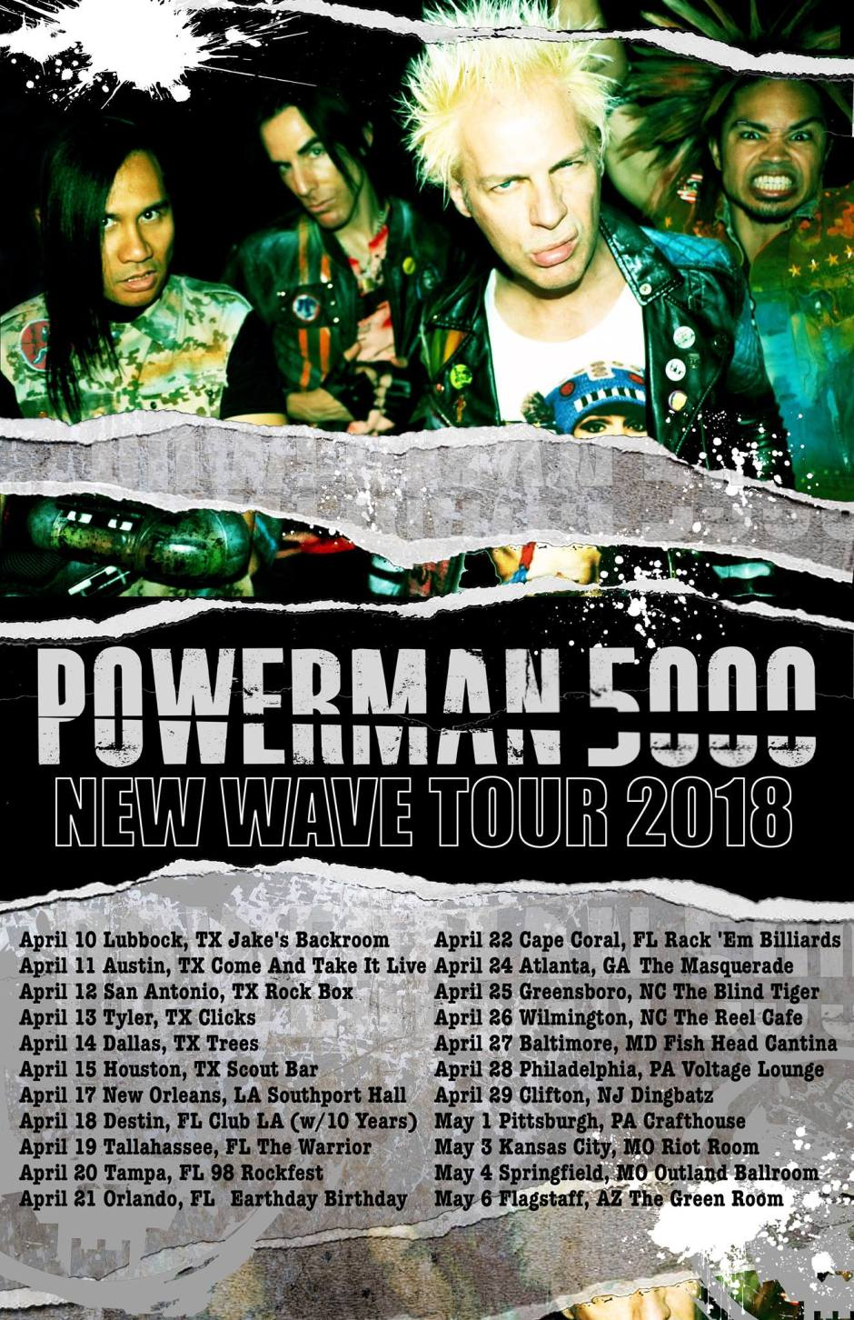 PM5K New Wave Tour