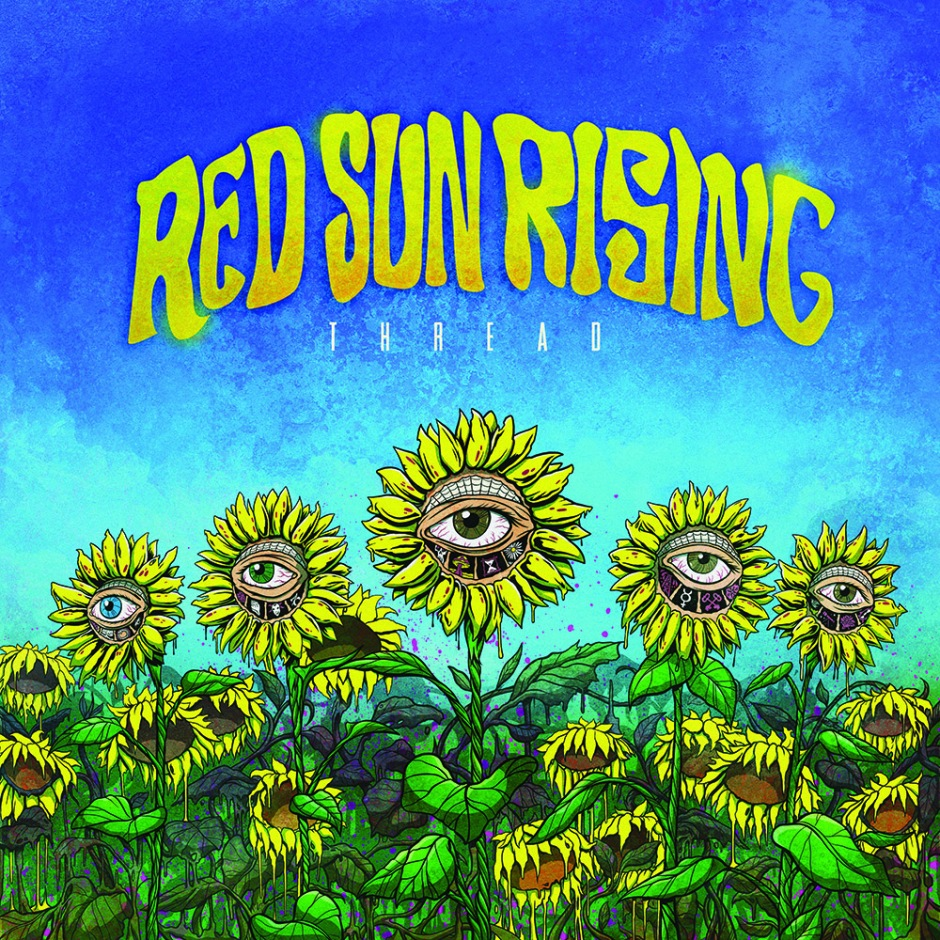 THREAD ALBUM COVER red sun rising