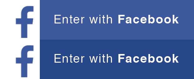 Enter with Facebook